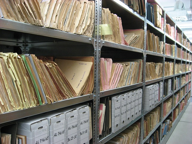 Records Management for Historical Microfilm Collections