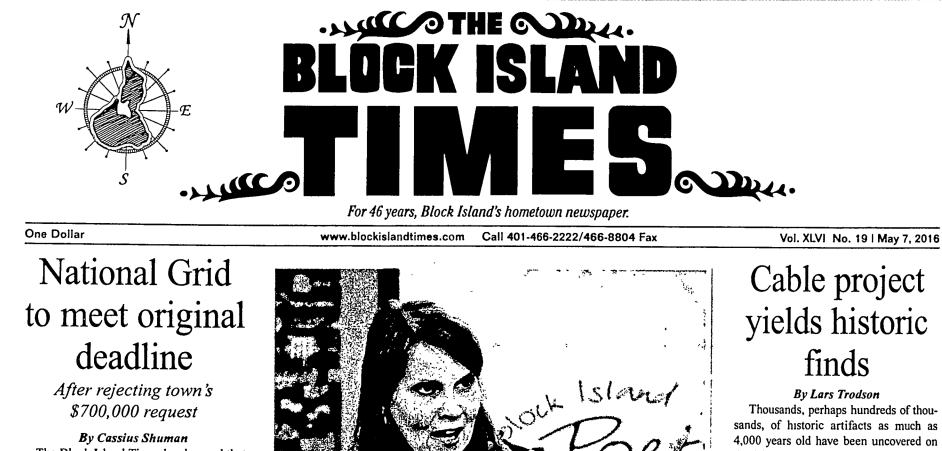 "The Island Free Library Digitizing ""The Block Island Collection"""