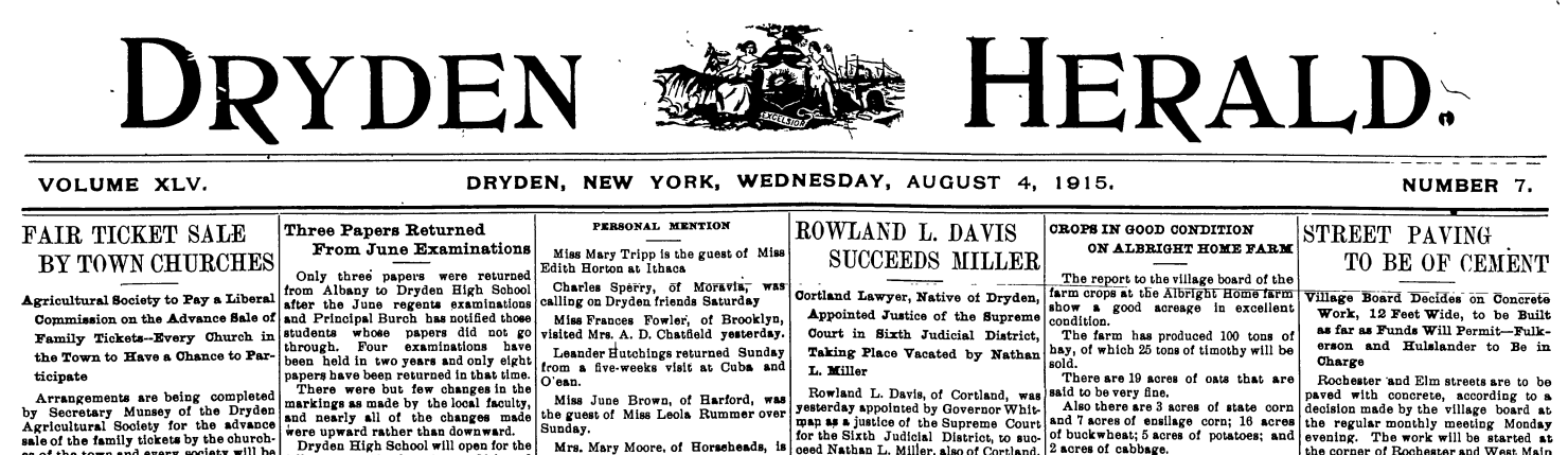 The Southworth Library Puts Old Newspapers Online