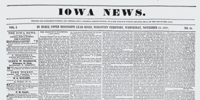 HRDP Grant Program for Historical Resources of Iowa