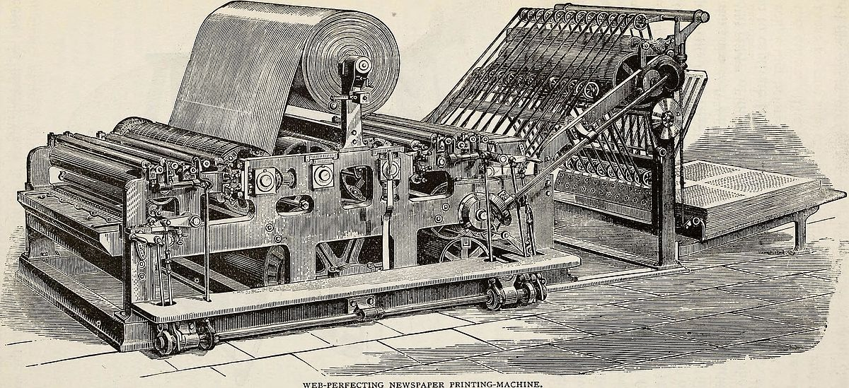 Making Old Newspapers Searchable: The History of Printing