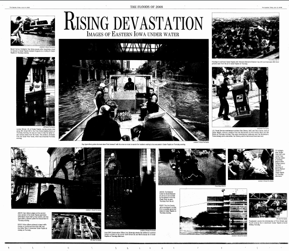 Community Archive Find: Iowa Flood of 2008