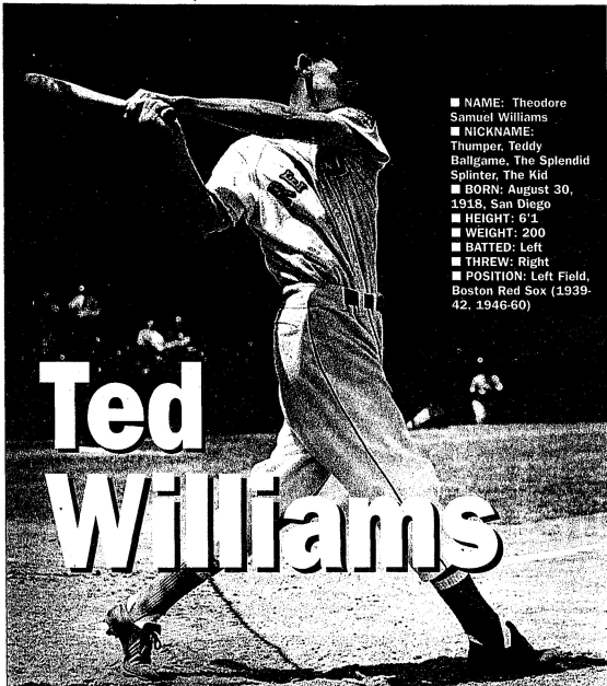 TDIH: Ted Williams
