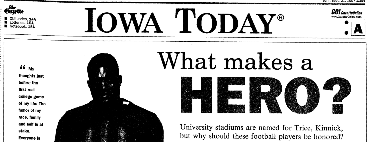 Community Archive Find: Jack Trice & Nile Kinnick