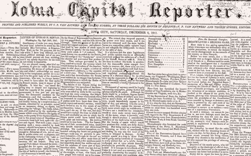 bc2c751e5a Iowa City Public Library launches an online archive of historic Iowa City  newspapers